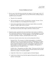 Practice Problems for Exam 1.doc