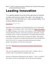 Leading Innovation.docx