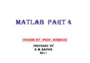 Microsoft PowerPoint - Introduction to Matlab 4