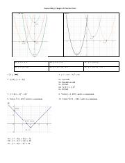 Int Math II B - Ch 9 Practice Test Answer Key.pdf - Answer ...