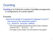 Lecture3(Counting)