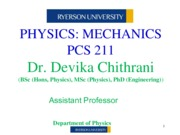 LECTURE 1-UNITS & DIMENSIONS