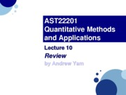 AST22201 - Lec10.Review