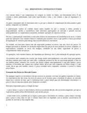 class note 15-1.2 - Derivativos Contrato Futuro