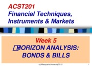 ACST201 Week 5 Lecture