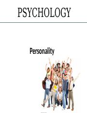 Chapter 12 powerpoint -2014- personality