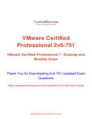 Vmware 2V0-751 Exam best practice questions.pdf