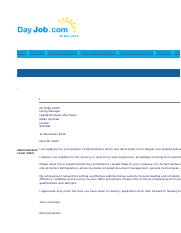 A professionally written administrator cover letter that can be used with a CV..html