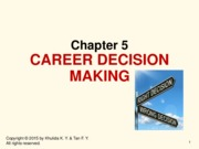 chap5_career decision