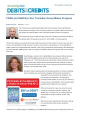 FASB and IASB Rev Rec Transition Group Makes Progress.pdf