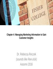 Chapter 4 (marketing research) - CANVAS-1