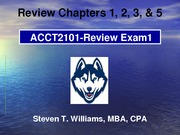 Acct2101 - STW_EXAM1_REVIEW