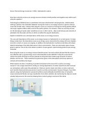 Ocean Thermal Energy Conversion.docx