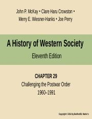 Chapter 29 Challenging the Post War Order 1960-1991 HWS 11e