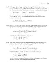 11_Ch 24 College Physics ProblemCH24 Wave Optics