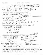 Solutions to Departmental Final Exam Review(2).pdf