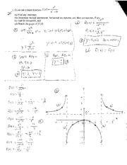 Rational Functions Test