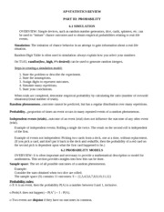 AP Statistics Study Guides | AP Practice Exams