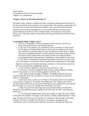 Naomi Wilson Chapter 2 & 3 Assignment-Govt & Not-for-Profit Accounting.doc
