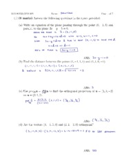 Fall 2010 Midterm #2 Solutions (Mihai's class)