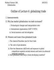4.9.2015 globalized trade pt 2 POST