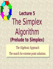 05 Simplex Method-Linear Algebra