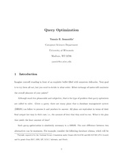 query-optimization-overview