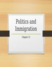 12.Politics and Immigration.ppt