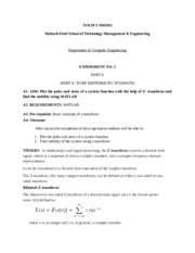 DSP Lab Manual Experiment no 4