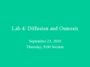 lab 4 Diffusion and Osmosis