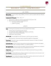 Accounting Terminology Pdf