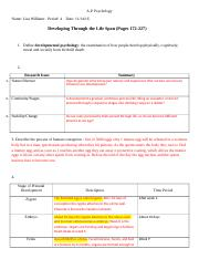 Willias, Lisa: Ch. 5 Guided Reading - Development.docx