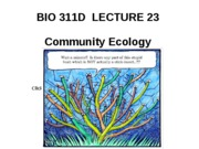 Lecture 23 community ecology posted[2]