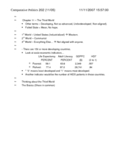 POS 202 Final Exam Notes