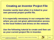 C002CreatingProjectFileForInventor2011F10