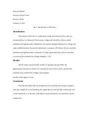 Lab 1- Introduction to Electricity.docx