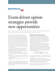 BoA event-driven options