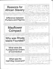 Notes on african Slavey