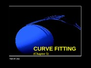 Chap 5 Curve Fitting (Least Sqrs Line, Least Sqrs Polynomial, Nonlinear Curve Fit)