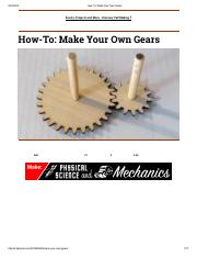 How-To_ Make Your Own Gears