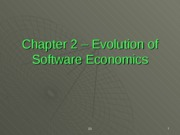 Chapter2-Evolution-of-Software-Economics