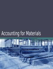 3_Accounting for Materials.pptx