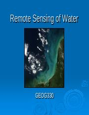 Chapter 12 12 water and environmental applications