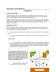 Week 4 Day 7 Assignment Solving Inequalities and Graphing Equations Appendix D Lavora Moses