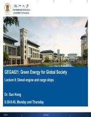 Green energy - Lecture 9.pdf