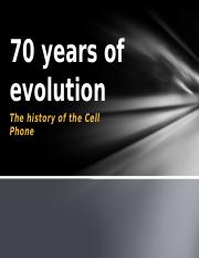 70 years of evolution[1].pptx
