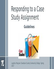 Case Study Assignment Guidelines with a Sample Case Study Solution.pptx