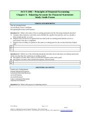Study Guide 3F (10 pages) FMA6e Adjusting Accounts for Financial Statements(1).doc