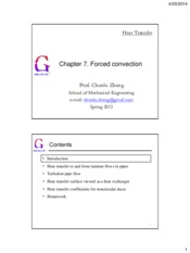 Chapter07.Forced convection