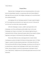 charlemagne essay matthewsorkin christophersiracusa 3 pages